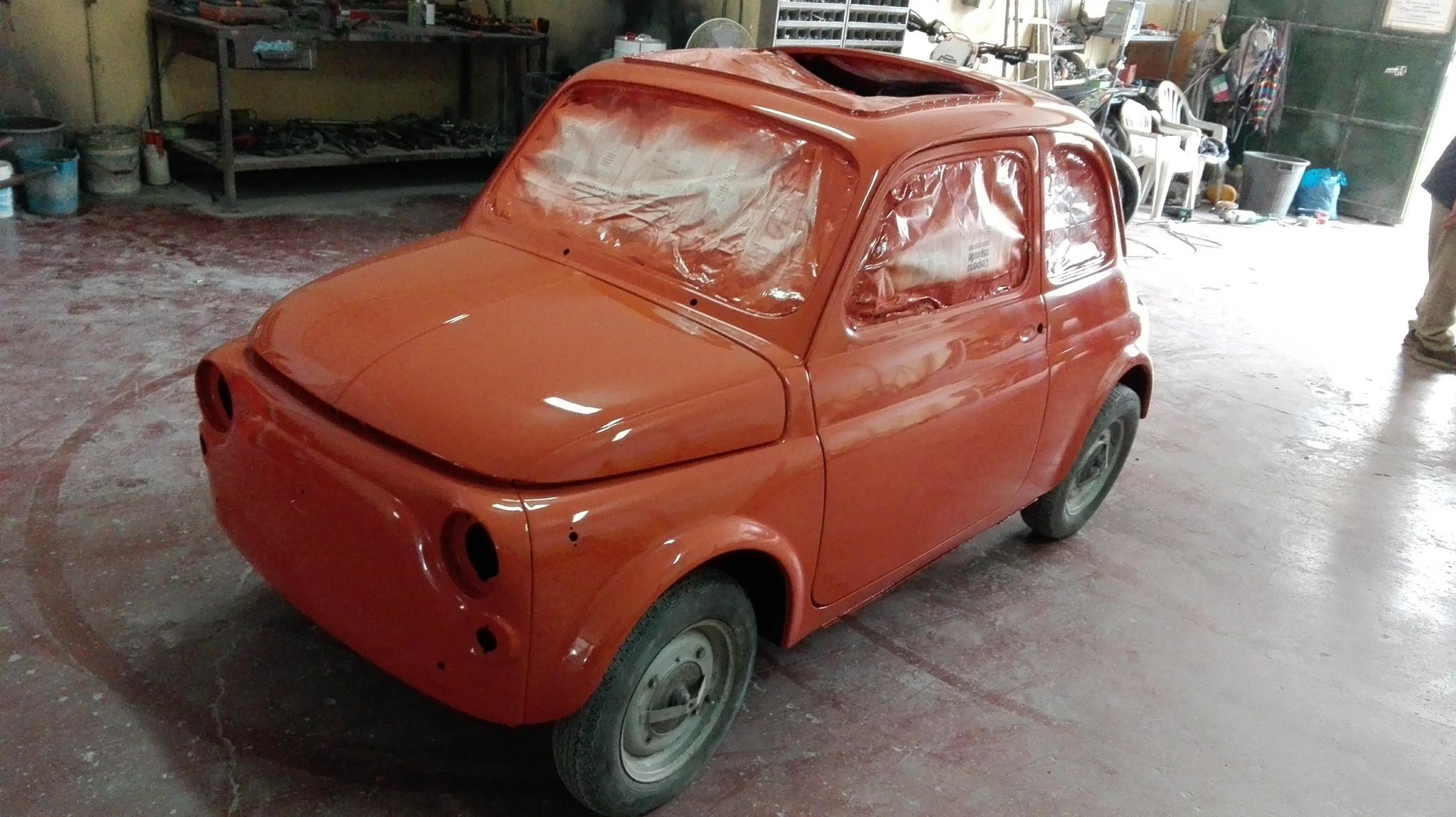 Restauro Fiat 500 F
