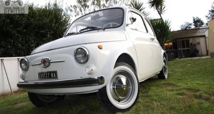 Fiat 500 F White 1967