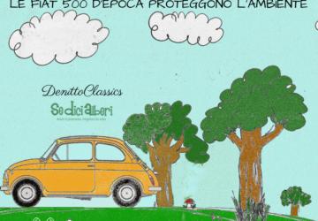 Ecco un'incredibile scoperta: Le Fiat 500 d'epoca proteggono l'ambiente.