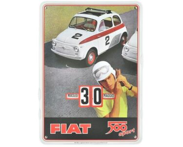 Perpetual calendar classic fiat 500 - Sport
